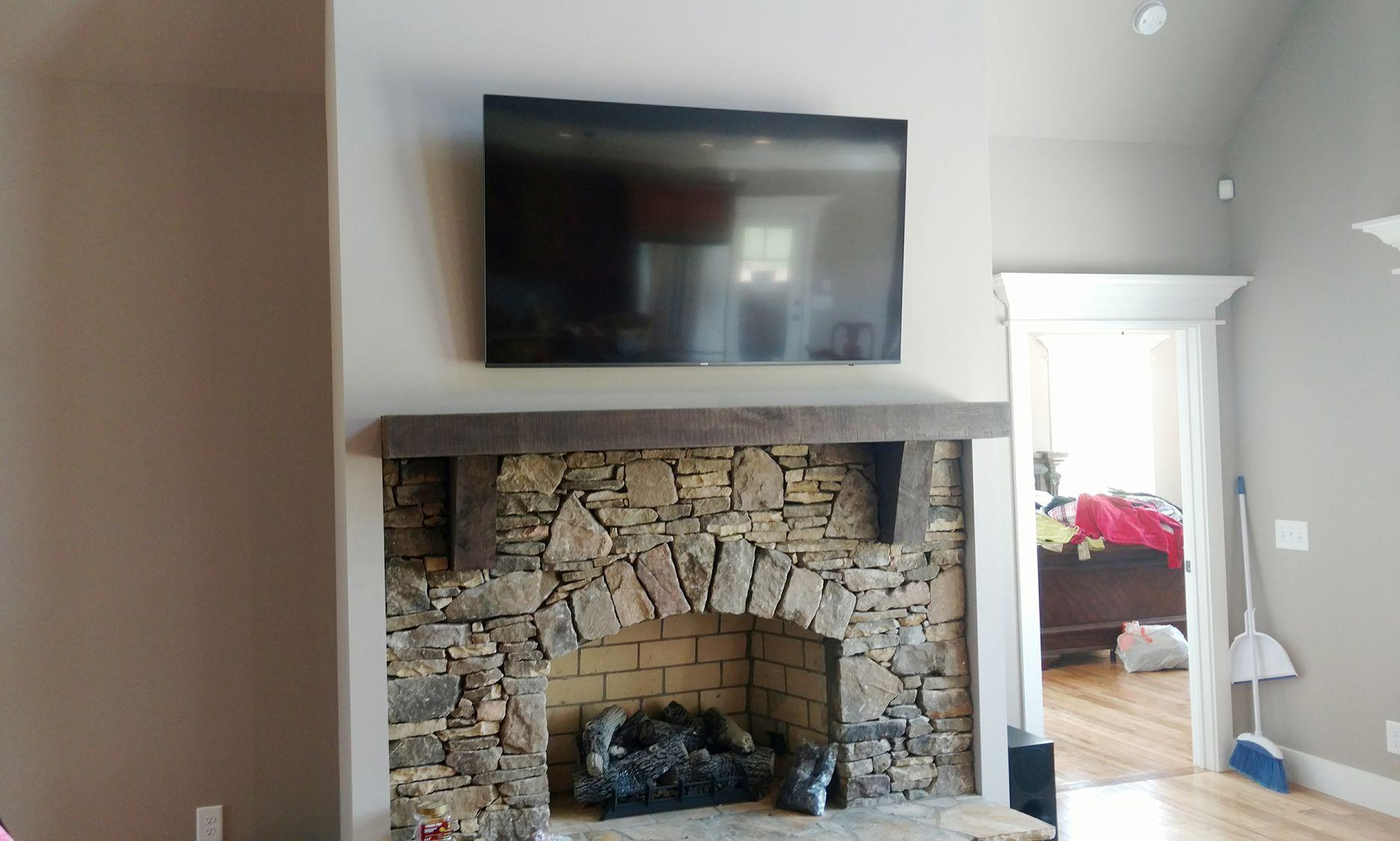 Tv Mounting In Greenville Sc Installation Wiring Conduit Fireplace And By Grand Central Call 864 881 1675