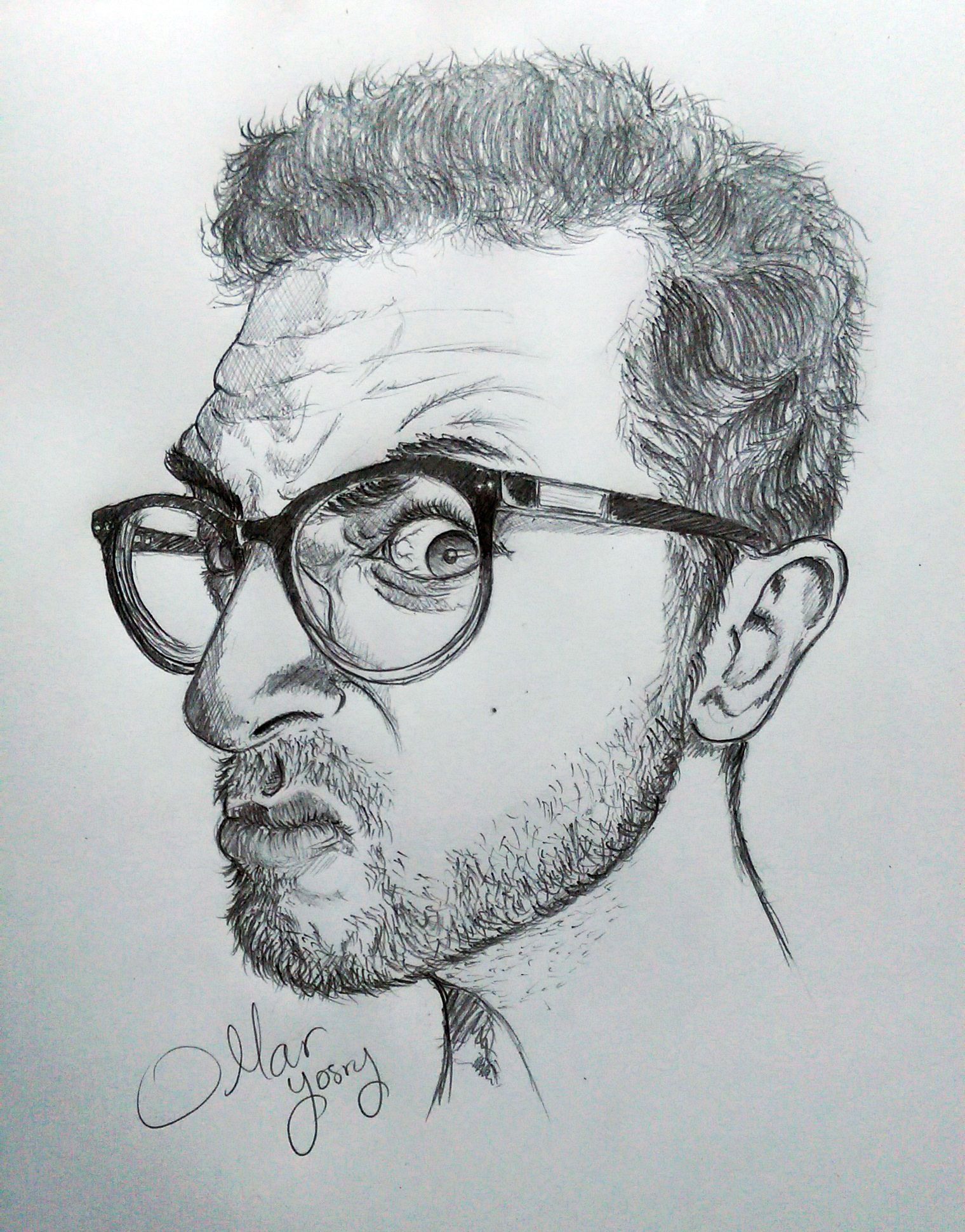 Im alright its everyone else thats crazy angry face of mine artwork drawing pencil sketch