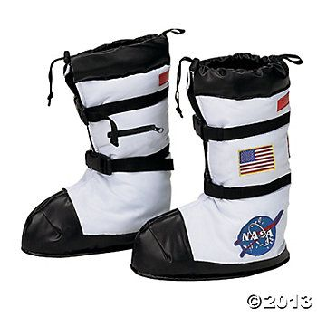 Astronaut Loop Handle Rubber Rain Boots