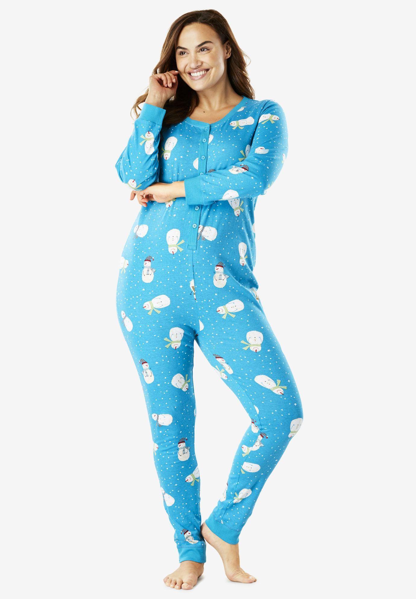 Striped Onesie Pajama by Dreams & Co.® Onesie pajamas