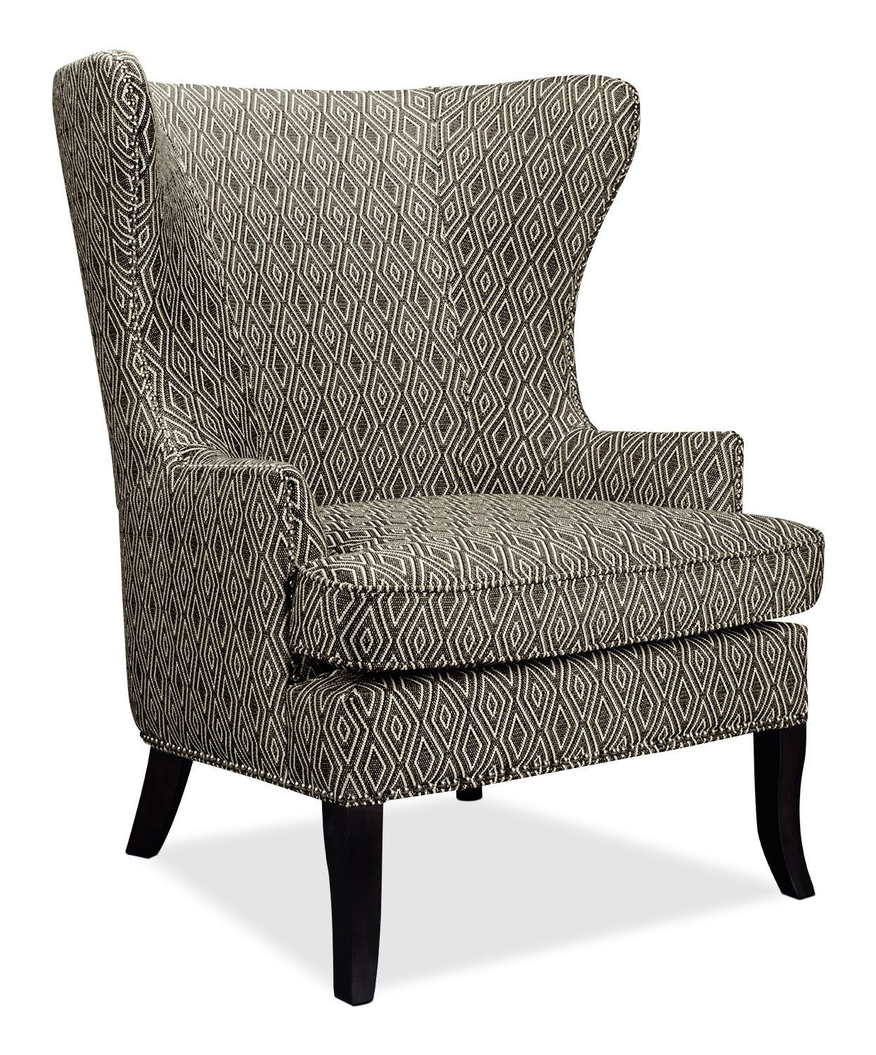 Oscar Fabric Accent Chair The Brick Fabric Accent Chair