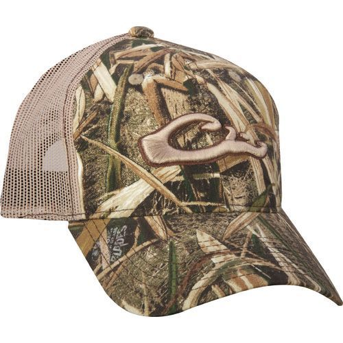 15652785ccea3 Drake Waterfowl Men's Mesh Back Cap - Camo Clothing, Basic Hunting Headwear  at Academy Sports
