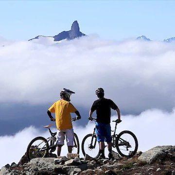 #whistler #gear #bikes #village #trails #downhill #lift #blackcomb #ride  #Outerbike #Black Tusk #Bobby