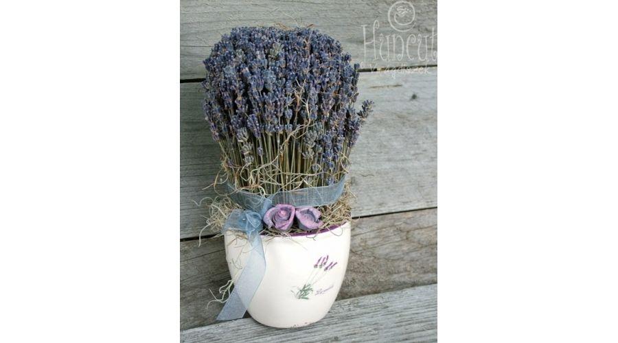 Lavender home decoration / Levendulás Szívem Csücske asztaldísz