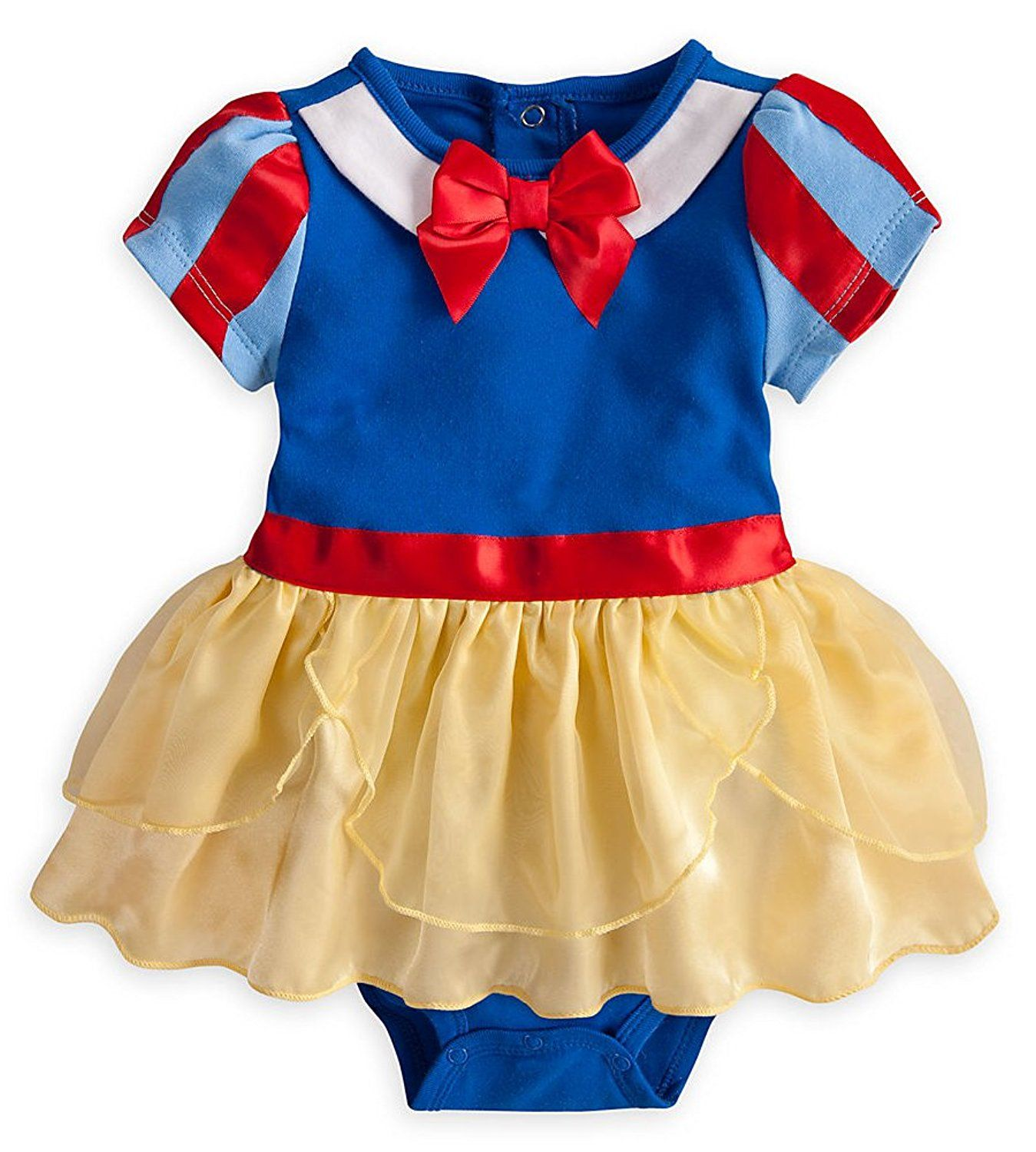 8ea2b02f1 Disney Store Girls Princess Snow White Onesie Costume Bodysuit Size 12-18  Months >>> Awesome product. Click the image : Baby halloween costumes