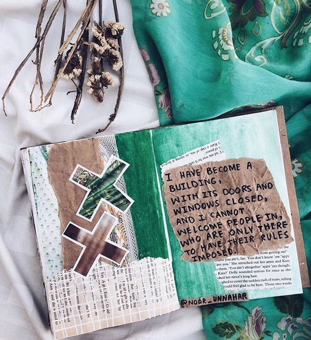 Art Journal Pages Inspiration And Ideas For Keeping An Or A Midori Travel Notebook Scrapbook