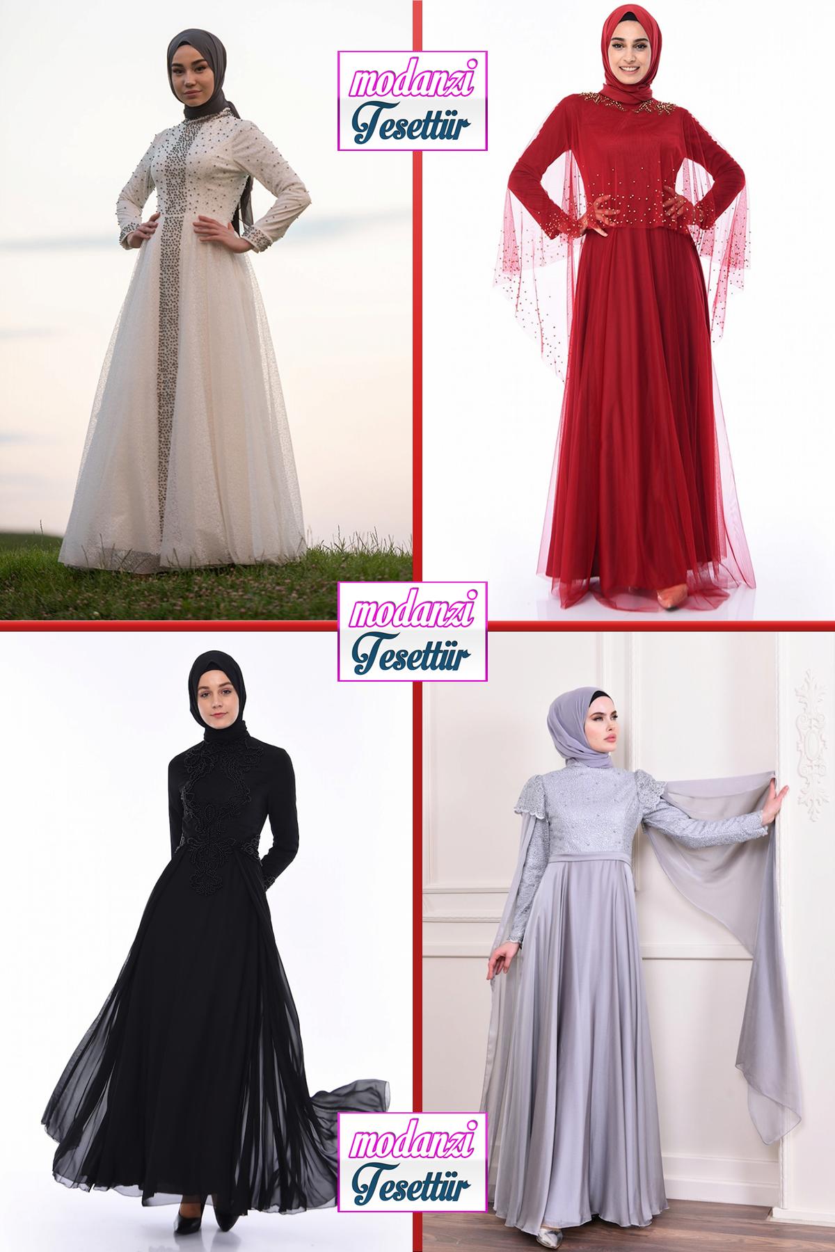 2020 Sefamerve Tesettur Abiye Elbise Modelleri 12 30 Abendkleid Evening Dress 2020 Elbise Resmi Elbise Moda Stilleri
