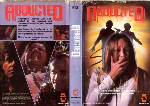 VHS Covers of Horror Movies | nicholauspatnaude