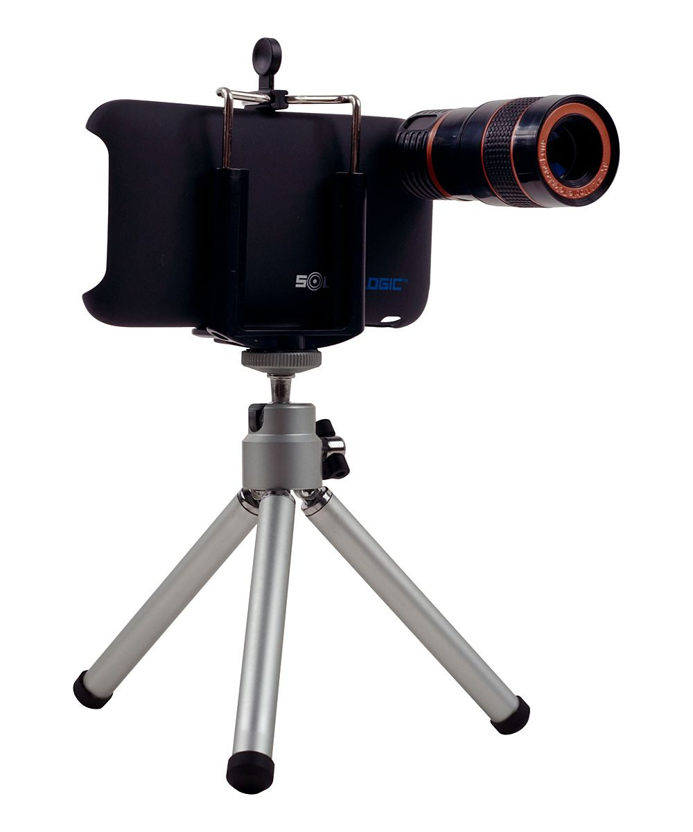 Telescopic Lens & Tripod Set for iPhone | Daily deals for moms ...