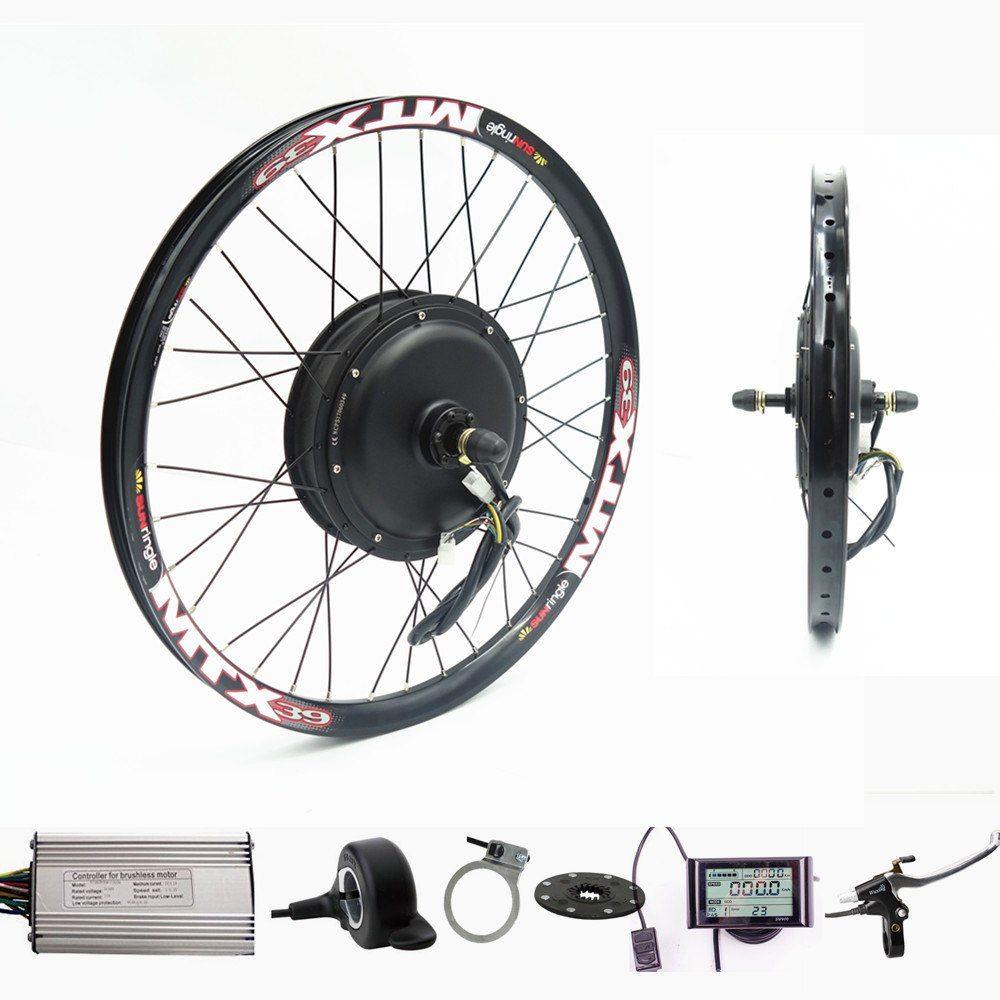 70km H 72v 2000w Rear Wheel Motor Electric Bike Kit Electric