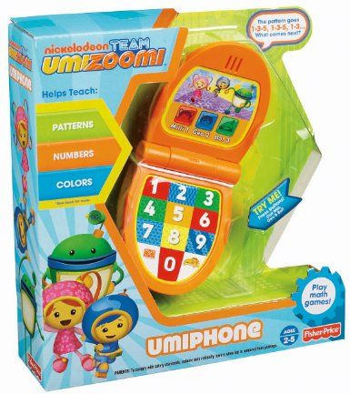 $16.32Amazon.com: Fisher-Price Team Umizoomi: UmiPhone: Toys & Games