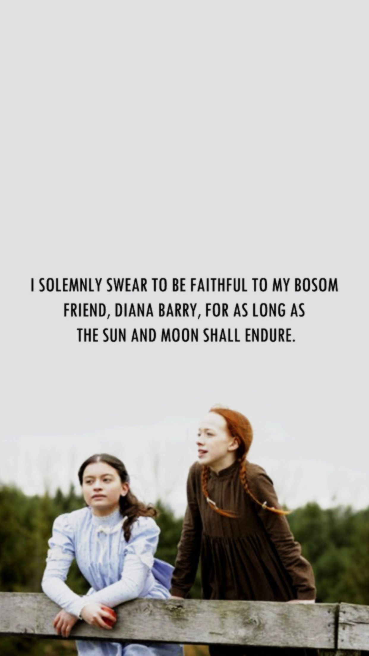 What A Real Friendship Is With Images Anne Shirley Anne Of