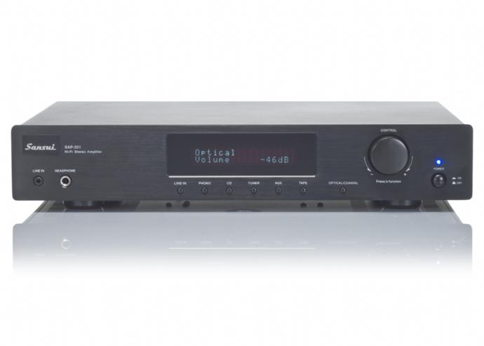 Sansui SAP201V Stereo Amplifier Fidelity Sound and