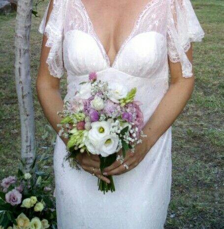Bouquet Sposa Luglio.Bouquet Da Sposa Fiori Semplici Luglio 2015 Bouquet