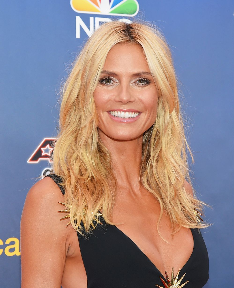 heidi klum hit back at donald trump in brilliant style. Black Bedroom Furniture Sets. Home Design Ideas
