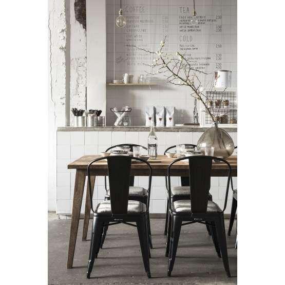 Eetkamerstoel Revival zwart - De Troubadour Interieurs #interieur ...