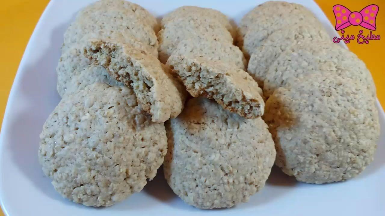 طريقة عمل كوكيز الشوفان الفاخر للدايت كيفية عمل بسكويت الشوفان مطب Food Krispie Treats Rice Krispies