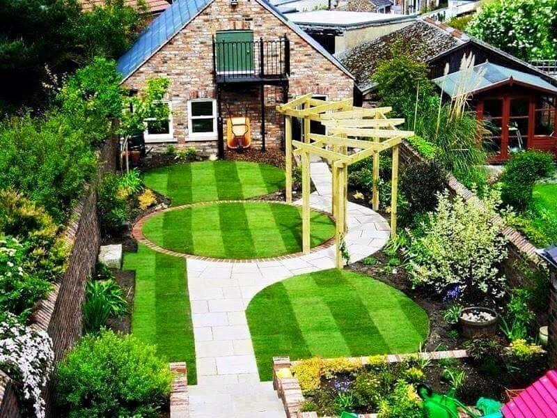 jardines pequeos con piedras