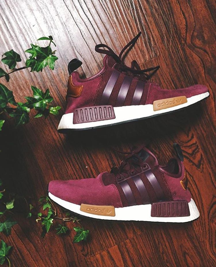 brand new 7567f a5a69 adidas Originals NMD Suede: Burgundy | Sneaker favs | Adidas shoes ...
