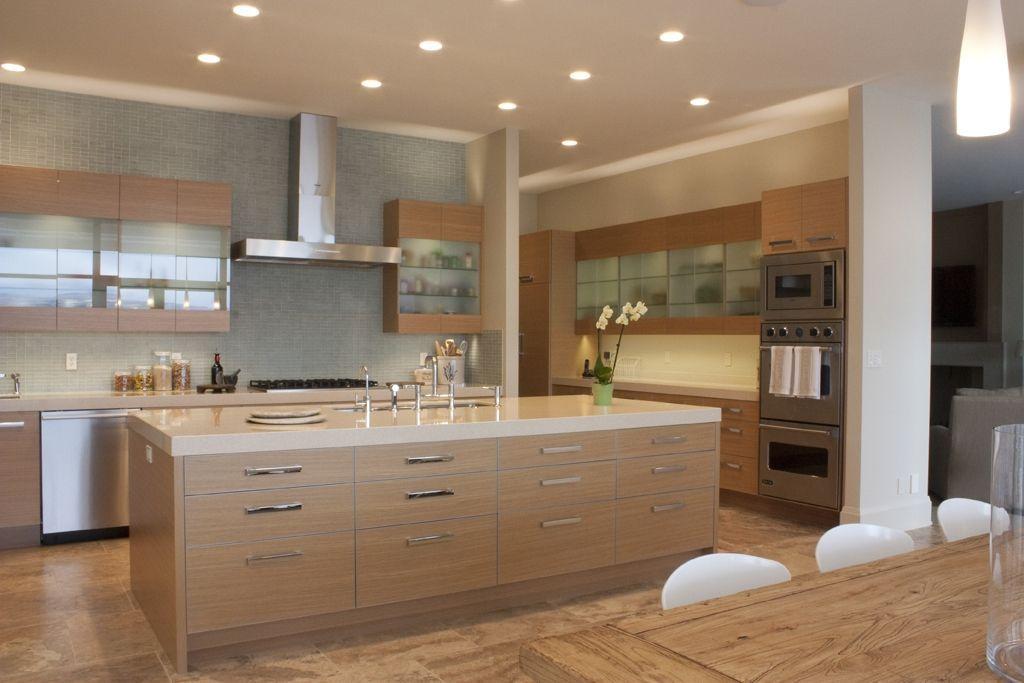 Handmade Rift Sawn White Oak Modern Cabinetry by ...