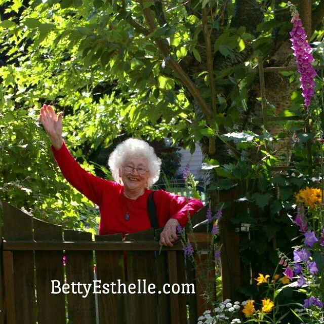 """Catch the stress relieving walking exercise taught by the marvelous nearly 88 years young psychotherapist Betty Esthelle, RN (my Mom!) It's at the end of the 5 min video on her home page and also here: http://www.youtube.com/watch?v=6vlTyb_9pdE  I know she'd appreciate """"Likes"""" and Comments.   #SagingNotAging"""