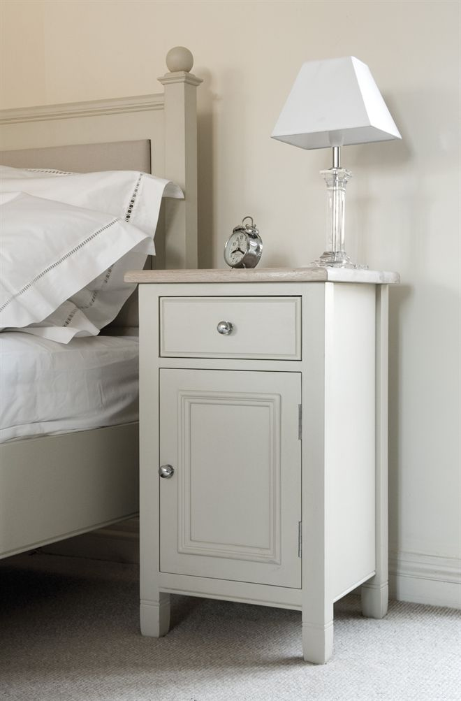 Best Neptune Bedroom Bedside Cabinets Chichester Closed 400 x 300