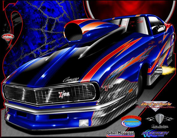 Wicked grafixx custom drag racing t shirts crew shirts for Racing t shirts custom