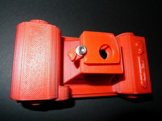 35mm 3D Printed Pinhole Camera