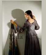 Lala Sana and Samia Celebre Embroidered Winter Dresses 2013 2014 008 150x180 for women local brands