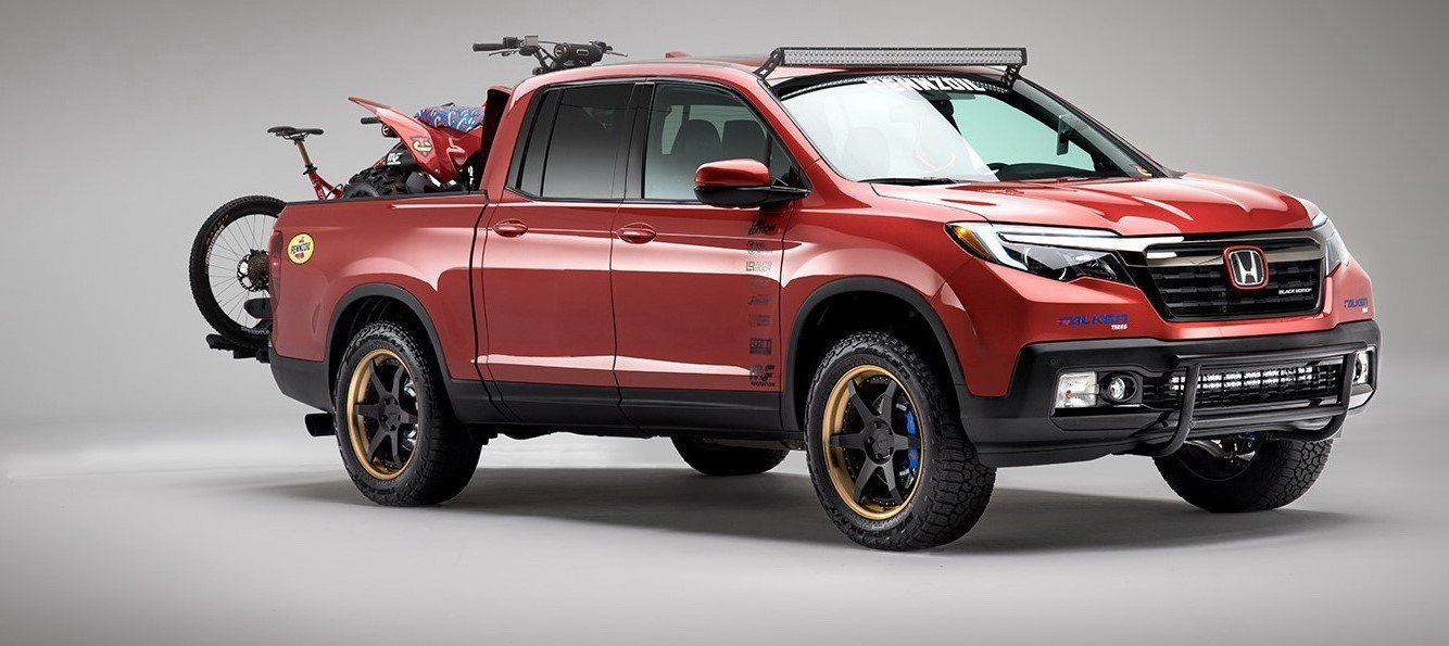 2020 Honda Ridgeline Refresh Spy Shoot from 2020 Honda