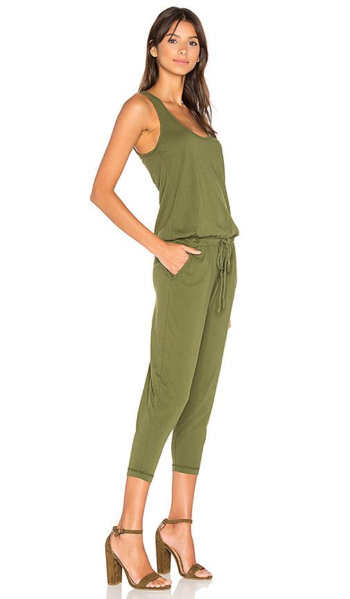 268ed43b7c83 Bobi Supreme Jersey Sleeveless Jumpsuit in Combat