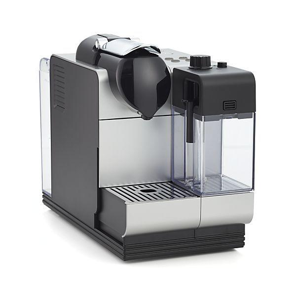 Delonghi Silver Nespresso Lattissima Plus Espresso Maker Nespresso Nespresso Lattissima Portable Espresso Maker