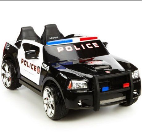Dodge Charger Police Cruiser Ride On Power Wheels Dodge Charger Police Toys Toy Cars For Kids
