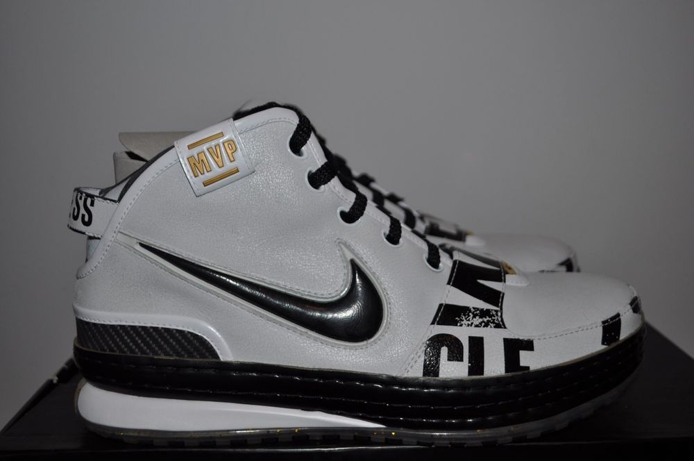 6f402db34c8 Nike Zoom Lebron MVP Six 6 SAMPLE PE UK9.5 US10.5 EU44.5 James 23 South  Beach (eBay Link)