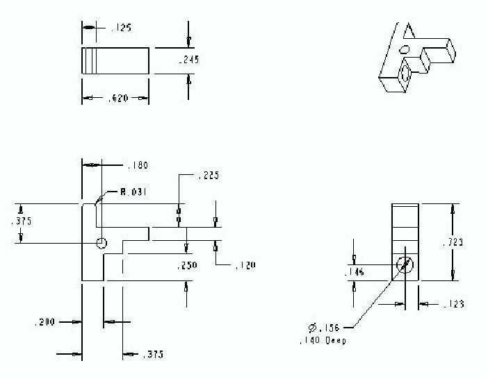 AR 15 Drop in Auto Sear DIAS Plans | Guns | Ar parts
