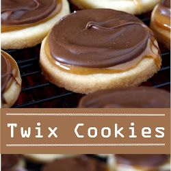 Twix Cookies - Trending Recipes #twixcookies