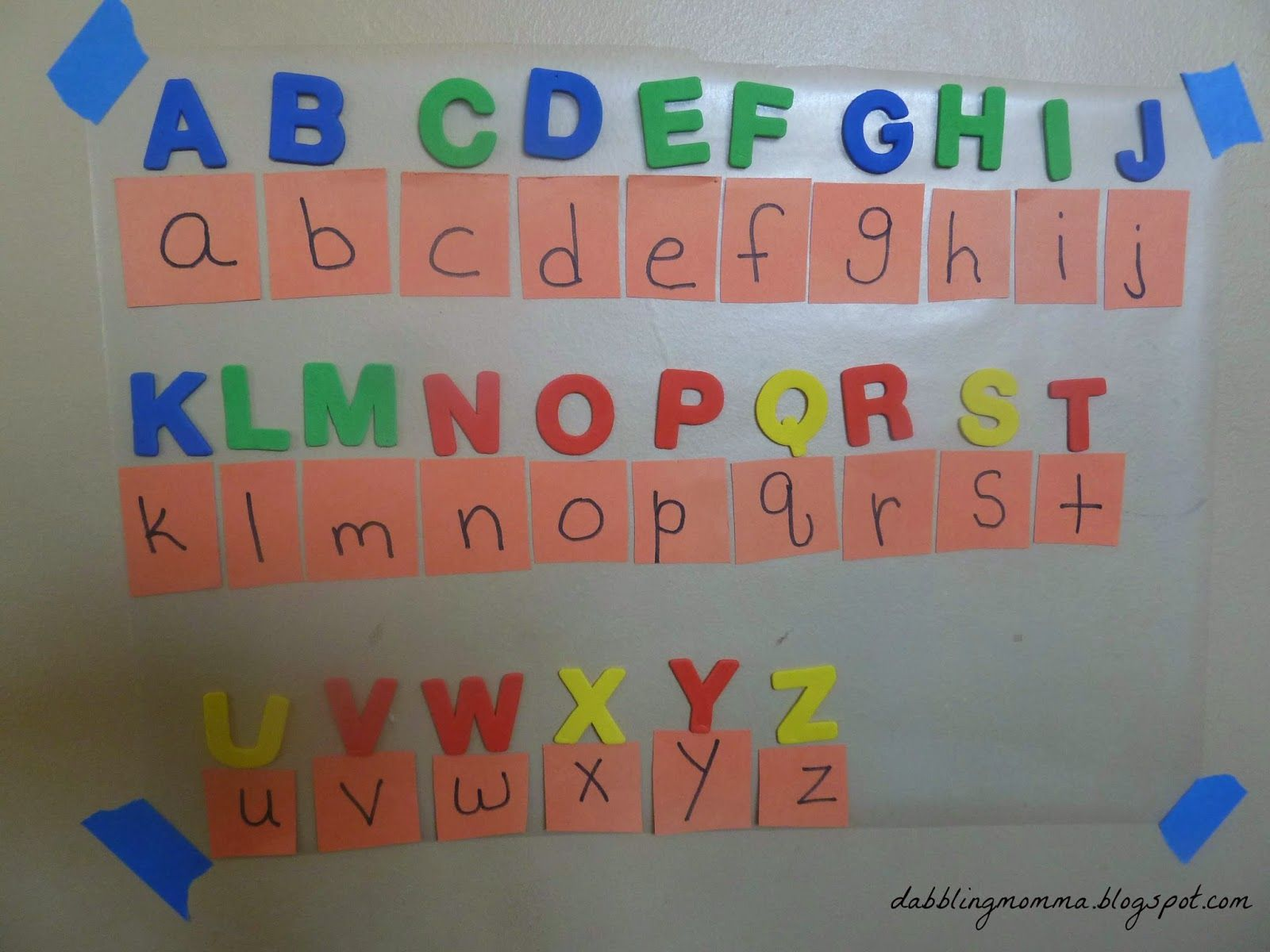 Teach Your Preschooler Uppercase And Lowercase