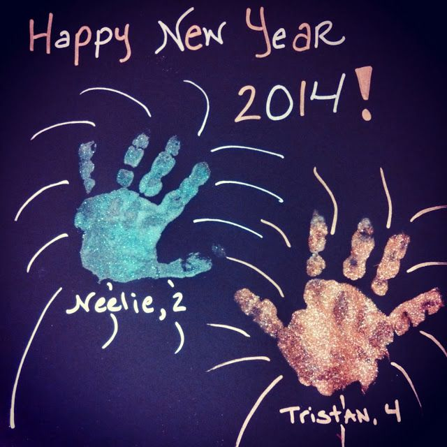 January Crafts, Daycare Crafts, New Year