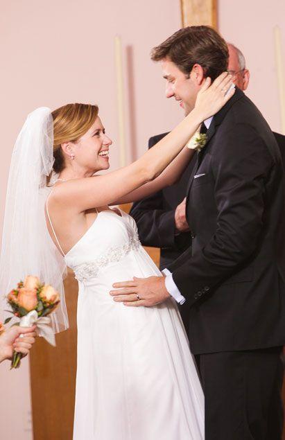 Pam Max Di Lonardo Jim And Pam Wedding Tv Weddings Wedding Site