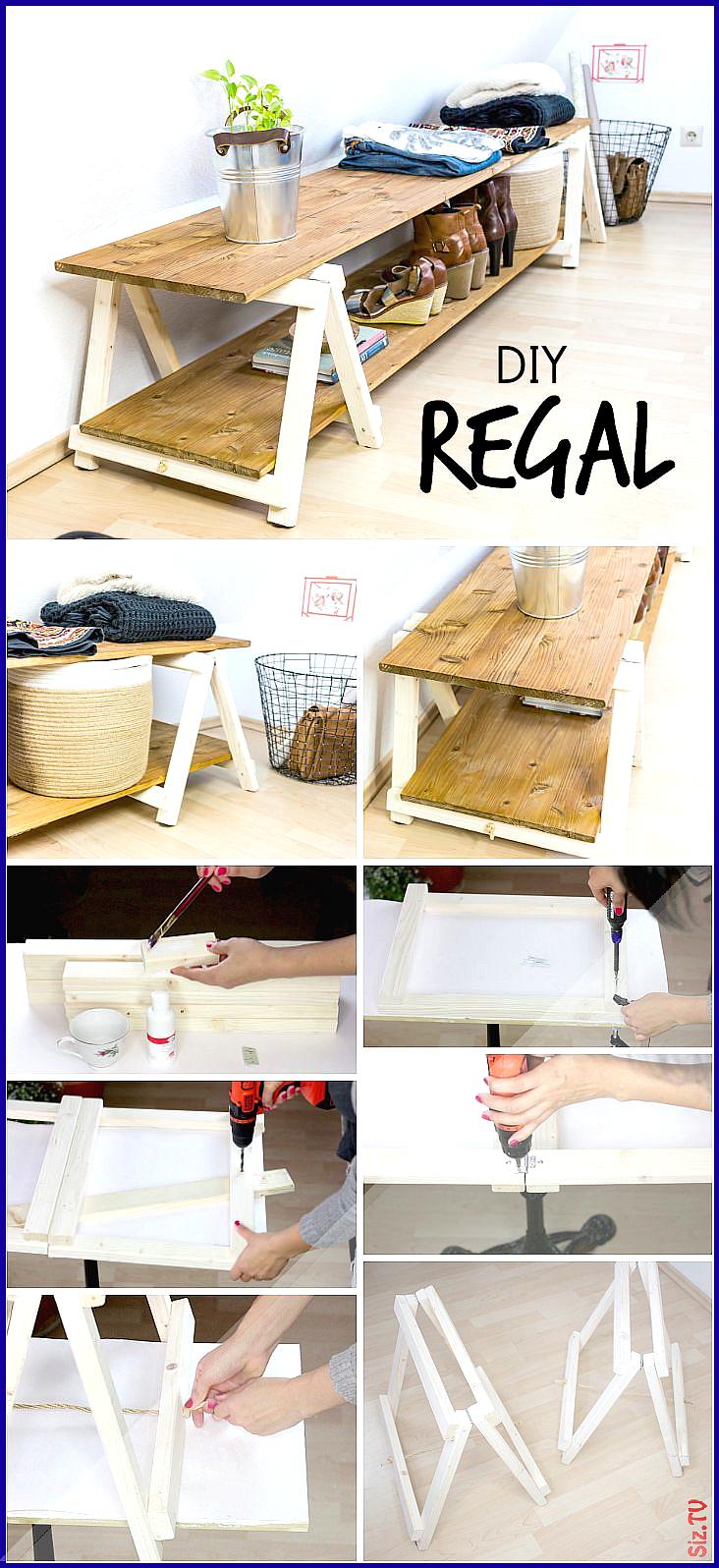DIY Regal Regal bauen mit Mini Klappb cken DIY Regal Regal bauen mit Mini Klappb cken Rabe A ...