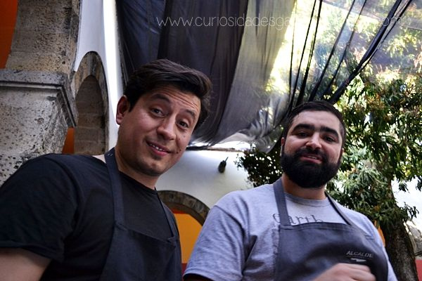 Chefs Tomas Bermúdez & Francisco Ruano