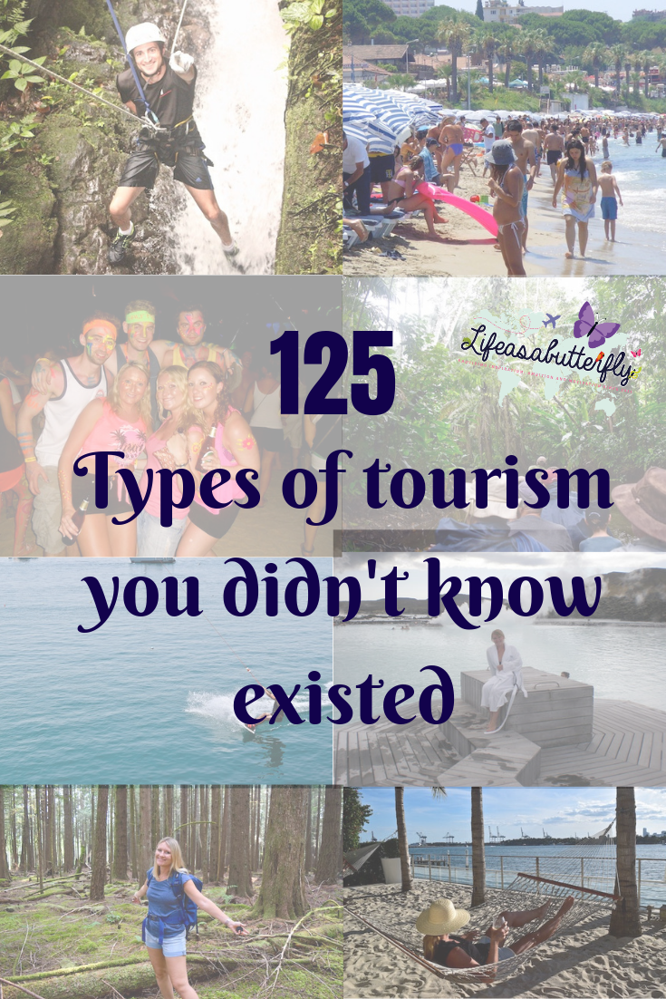 types of tourism with definitions and explanations. Learn all about about the travel and tourism industry.