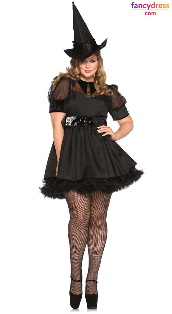 535119d34f0 Plus Size Adult Halloween Costumes or foreplay behind closed bedroom door.  Beautiful and sexy . Prove that witches don t need to be ugly when it comes  to ...