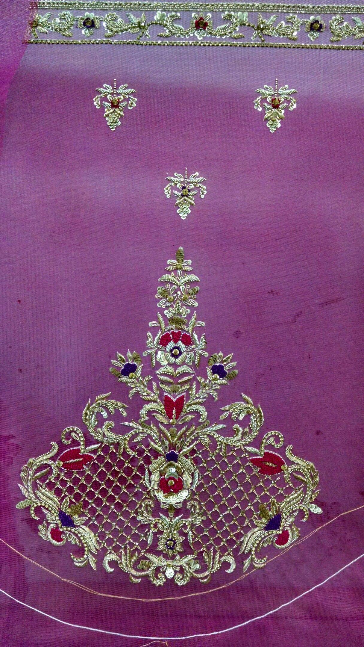 Zardozi work Oder contcet 9203442332412   Embroidery   Pinterest ...