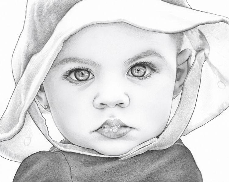 Картинки нарисованные карандашом детей