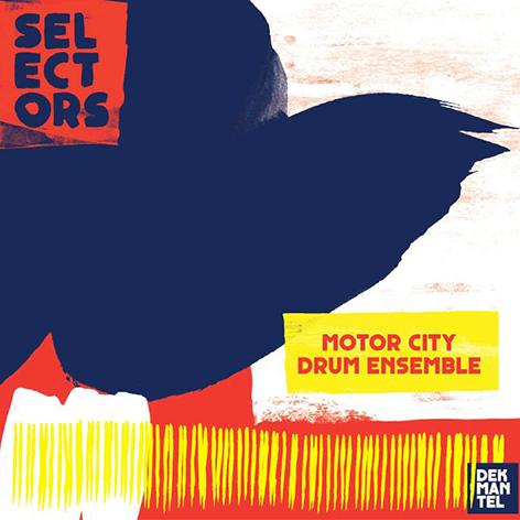 Various Selectors 001 Motor City Drum Ensemble Music Artwork Electronic Music Poster Layout