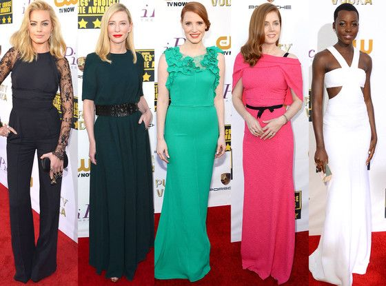 Amy Adams, Lupita Nyong'o and more! Who do you think was best dressed at the 2014 Critics' Choice Awards?