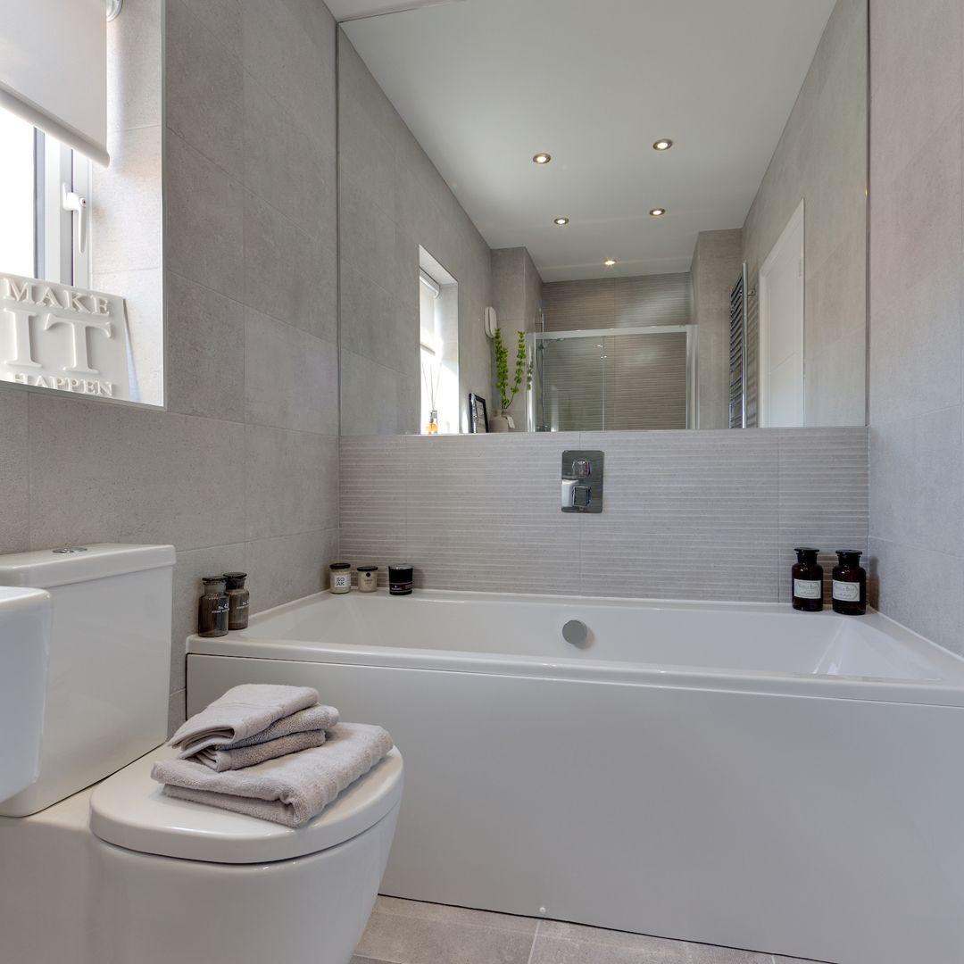 Pin by Miller Homes UK on Bathroom   Family bathroom ...