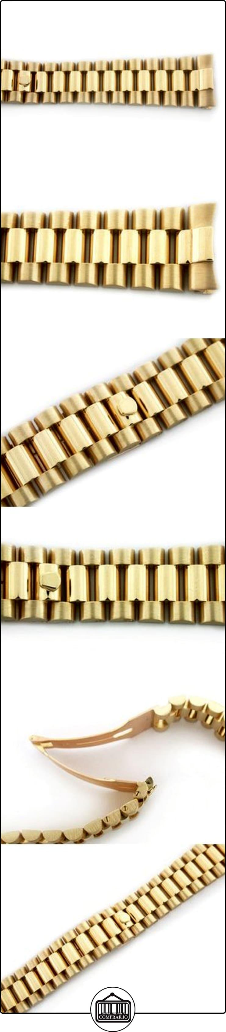 Para hombre Presidente banda de reloj para Rolex 20mm oro de 18quilates  ✿ Relojes para hombre - (Lujo) ✿