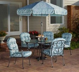 Mainstays Willow Springs 6 Piece Patio Dining Set